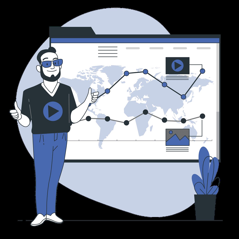 Digital Marketing Services Vector illustration