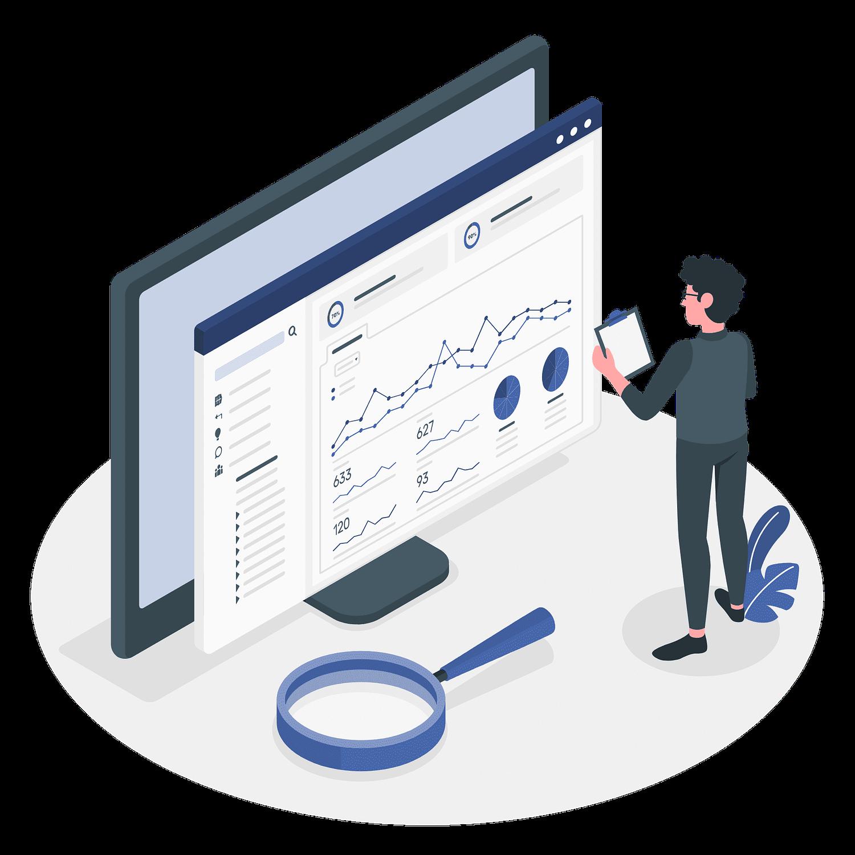 Analytics Vector Illustration